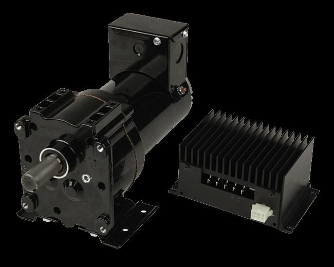 DC Parallel Shaft Gearmotors